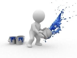 Splas color in your website design
