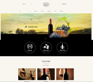 Web Design for Wineries