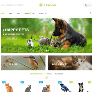Web Design for Pet Stores